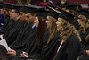 Chadron State College candidates for graduation during the commencement ceremony Dec. 16, 2016, in the Chicoine Center. (Photo by Tena L. Cook/Chadron State College)