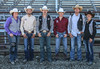 These contestants led Chadron State College to its strong showing at the college's rodeo Sept. 17-18. From left, breakaway roping winner Elsie Fortune; bull riding champion Cordale Martin; Lane Day, third in tie down roping and sixth in steer wrestling; Chasen Cole, third in bull riding; Prestyn Novak, third in steer wrestling and sixth in tie down roping; and Brandi Cwach, sixth in goat tying. Chadron State won the men's team championship and was third in the women's team standings. (Con Marshall photo)