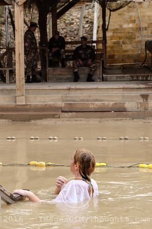 Christian Pilgrimage to the Jordan River in Israel
