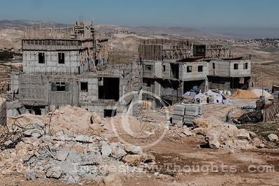 Construction in Maale Adumim, Israel