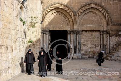 Ash Wednesday in Jerusalem, Israel