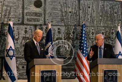 US Vice Pres. Biden Visits Israel