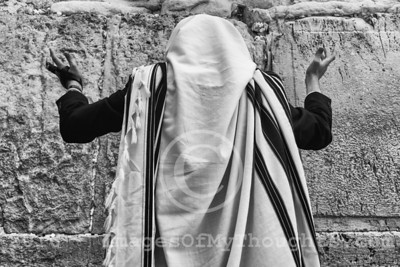 Spring Cleaning at the Western Wall in Jerusalem, Israel