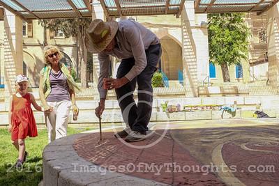 3-D Street Art in Jerusalem, Israel
