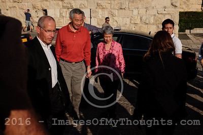 Singapore's PM Lee Visits Israel