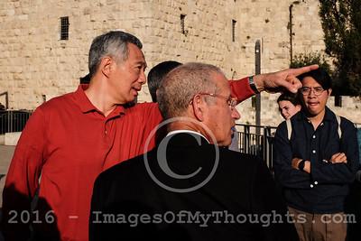 Singapore's PM Lee Visits Israel