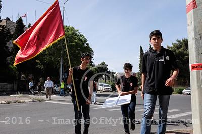 Armenian Genocide Commemoration in Jerusalem, Israel