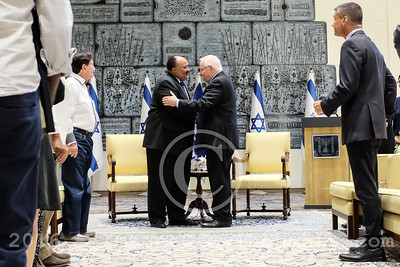 Martin Luther King III Visits Israel