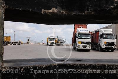 Israel Gaza Kerem Shalom Crossing