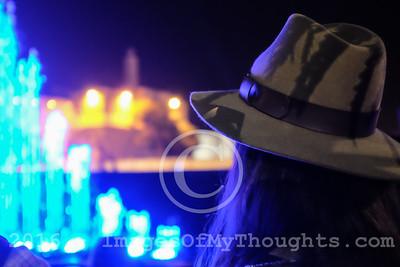 International Light Festival in Jerusalem, Israel