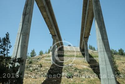 President Visits Jerusalem Fast Rail Construction