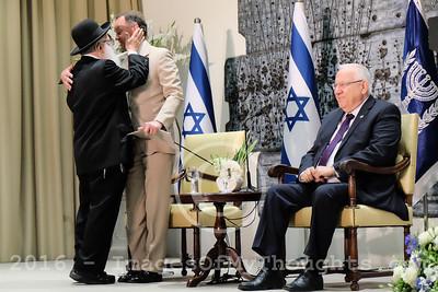 Royal Belgian Holocaust Rescuers Visit Jerusalem, Israel
