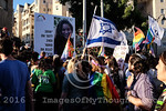 Gay Pride March 2016 in Jerusalem, Israel