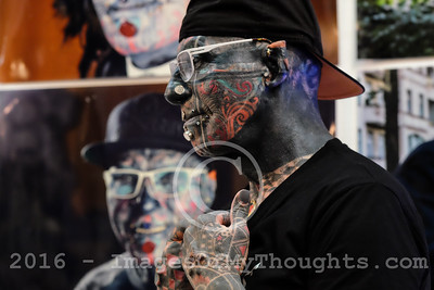 2016 Tattoo Convention in Tel Aviv, Israel