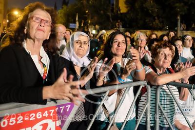 Pro-Peace Rally in Jerusalem, Israel