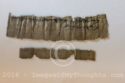Rare Papyrus Unveiled in Jerusalem, Israel