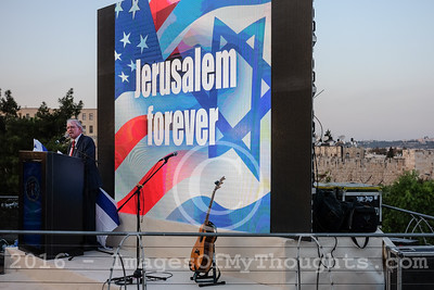 Trump Campaign Rally in Jerusalem, Israel
