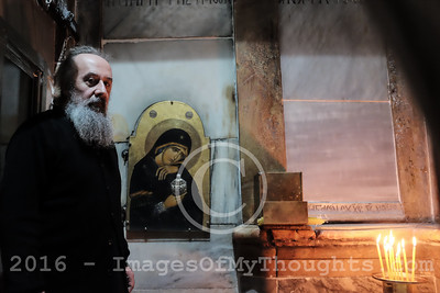 Restoration Of The Holy Sepulchre in Jerusalem, Israel