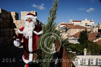 Christmas 2016 in Jerusalem, Israel