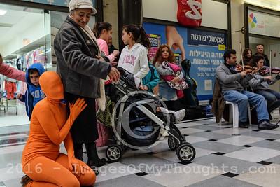 Hanukkah 2016 in Jerusalem, Israel