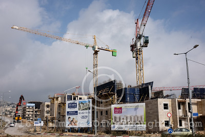 Housing Construction in East Jerusalem, Israel