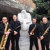The Chadron State College Saxophone Quartet has been selected to perform at the NMEA/NAfME Conference in November 2016. From left, Forrest Holso, Jedd Raymond, Sean DeHaven and Drew Kasch. (Photo courtesy Michael Stephens)
