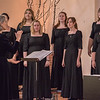 Members of Chadron State College's Arioso, led by Dr. Una Taylor,  perform at the Chadron Arts Center Sunday April 17, 2016. (Tena L. Cook/Chadron State College)
