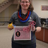 """Today was proclaimed """"Joslynn VanDerslice Day"""" by Frances Gonzalez in honor of VanDerslice's six semesters working in the Learning Center."""
