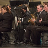 Members of the Chadron State College Wind Symphony, led by Dr. Sidney Shuler, perform Monday, April 18, 2016, in Memorial Hall. (Tena L. Cook/Chadron State College)