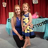 Chadron State College Child Development Center director Lona Downs poses with Amalia Larson at the CDC graduation ceremony Monday, April 25, 2016. (Courtesy photo)