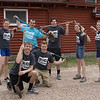 Chadron State College Health Professions Club members pose after planting trees at Camp Norwesca April 23, 2016, as part the fourth annual The Big Event. Front row, from left, Logan Spencer of O'Neill, Neb. and Isaac Langan of McCook, Neb. Back row, from left, Sara Marlatt of Gordon, Neb., Justin German of Imperial, Neb., Cameron Cox of North Platte, Neb., Brittany Soukup of O'Neill, Neb., and Gabi Brumfield of North Platte, Neb. (Tena L. Cook/Chadron State College)