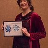 Academic Building Block Award recipient Makenzy Petty at the Rising Sophomore Recognition Ceremony Monday, April 25, 2016, in the Chadron State College Student Center. Not pictured: Ellis Colon. (Tena L. Cook/Chadron State College)