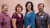 Chadron State College co-chairs of the Chadron State Foundation Fall Fund Drive, from left, Dawn Brammer and Melissa Mitchell, pose with the community co-chairs for the fund drive, Jennifer Brown and Justin Haag. (Photo by Tena L. Cook/Chadron State College)