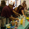 MTNA hosts a pancake breakfast in Memorial Hall for Family Day, Sept. 17 2016. (Photo by Conor Casey/CSC)