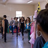 """Upward Bound students, right, look on as actors practice for """"Cabaret"""" at the Post Playhouse June 21, 2016. (Photo by Tena L. Cook/Chadron State College)"""