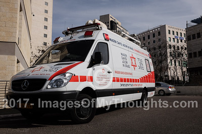 MDA Emergency Medical Services in Jerusalem, Israel