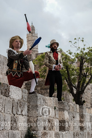 Marathon Preparations in Jerusalem, Israel