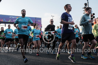 Jerusalem International Marathon 2017 in Jerusalem, Israel