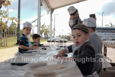 Passover Preparations in Kfar Chabad, Israel