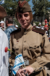 Victory in Europe Day 2017 Commemorated in Jerusalem, Israel