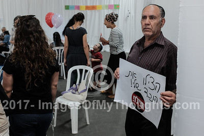 Pediatric Hemato Oncology Patients Protest in Jerusalem, Israel