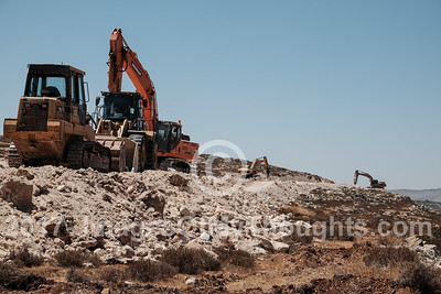 Construction of 'New Amona' in the West Bank, Israel