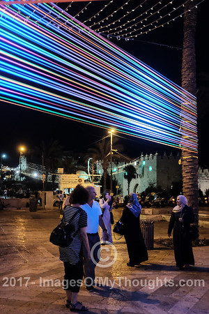 Light Festival 2017 in Jerusalem, Israel