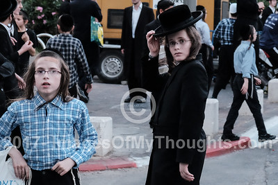 Ultra Orthodox Protest Sabbath Desecration in Jerusalem, Israel