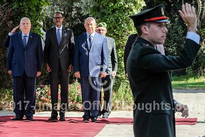 Rwandan President Kagame Visits Israel