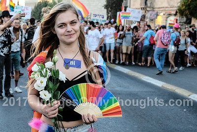 Jerusalem Pride March 2017