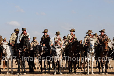 Battle of Beersheba Centenary in Beersheba, Israel
