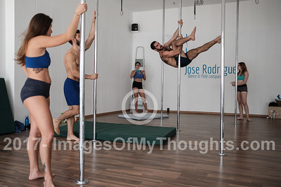 Pole Dancing in Tel Aviv, Israel