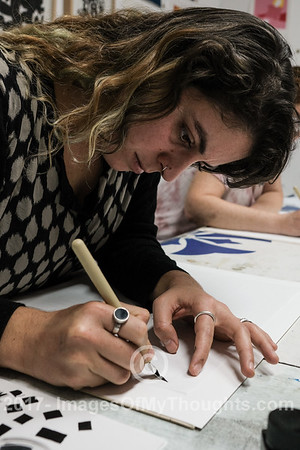 D'Anastasio Calligraphy Workshop in Tel Aviv, Israel