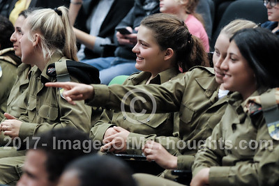 IDF Female Tank Crews Graduation at Latrun, Israel